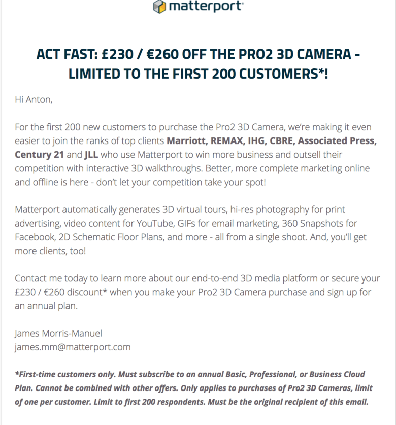 $300 Off Matterport Pro2 Camera: Why? | We Get Around